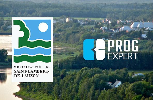 Un tout nouveau site web pour la municipalité de St-Lambert-de-Lauzon