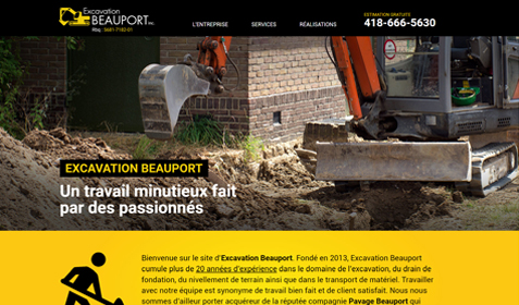 Excavation Beauport inc.