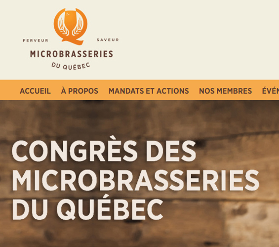 Aperçu de Association des microbrasseries du Québec