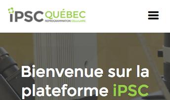 Aperçu sur cellulaire de iPSC Québec