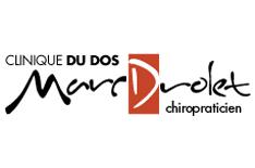 Logo de Clinique du dos Marc Drolet