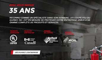 Aperçu sur cellulaire de Les Coupe-Feu du Quebec