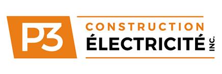 Logo de P3 Construction Électricité