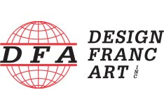 Logo de Design Franc Art