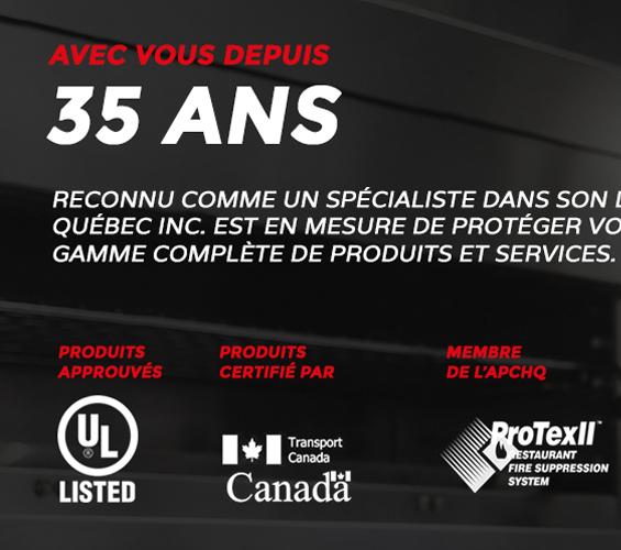 Aperçu de Les Coupe-Feu du Quebec