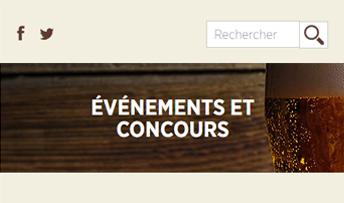 Aperçu sur cellulaire de Association des microbrasseries du Québec